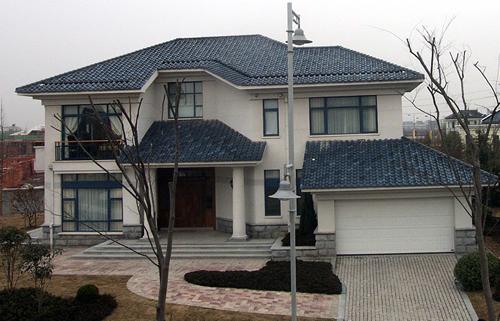 别墅屋顶支模图